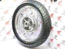 "Honda CB 750 cuatro rear wheel Alu Flat shoulder rim 3,5x18""+ tire bt45 140/70-18"