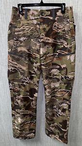 Under Armour Mens 30 x 30 Forest Camo HeatGear ArmourVENT Pants  NWT $120