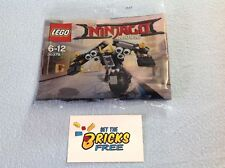 Lego The Ninjago Movie 30379 Quake Mech Polybag New/Sealed/Hard to Find