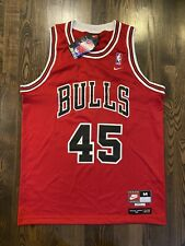 NWT New NIKE 8403 Chicago Bulls #45 MICHAEL JORDAN Jersey Medium 40 M Last Dance