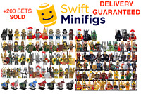 21x Minifigures WHOLESALE Medieval Kingdoms Soldiers Knight Army Military LE GO