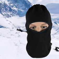 Ski Full Face Mask Cover Hat Cap Motorcycle Thermal Fleece Balaclava Neck Winter