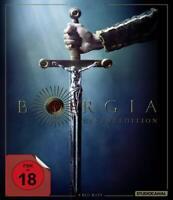 Borgia - Faith and Fear - Seasons 1-3 Complete TV series 8 Disc bluray Region B