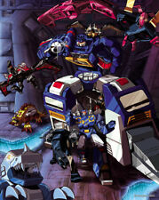 TRANSFORMERS POSTER: Soundwave Generation 1 Classic  27 x 39.5 Pat Lee Dreamwave