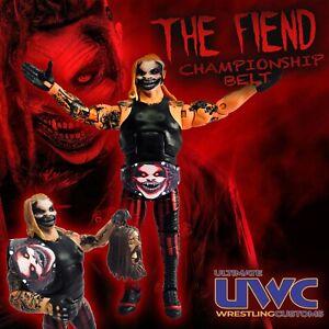 WWE The Fiend Custom Wrestling Belt - Let Me IN!!! Mattel Bray Wyatt