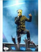 "~~ COREY TAYLOR Authentic Hand-Signed ""SLIPKNOT"" 8x10 Photo (JSA COA) ~~"