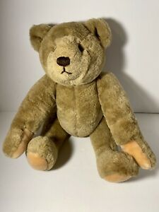 "Vintage Bialosky Gund 1982 Teddy Bear Plush Stuffed Toy 18"" Fully Jointed"