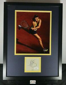 Maria Sharapova Signed Auto Autographed 12x16 Framed Photo & Cut JSA COA Tennis