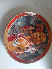 Michael Jordan Record 72 Wins Upper Deck Bradex Collectable Plate