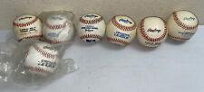 Lot of 7 Rawlings Official Major League Baseballs Mlb 2 Sealed New!