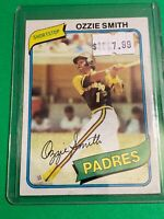🔥 1980 TOPPS Baseball Card Set #393 San Diego Padres 🔥 OZZIE SMITH 2nd YEAR