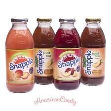 10x 475ml Snapple tè freddo USA (libera scelta di 5 varietà) (5,05 €/L)