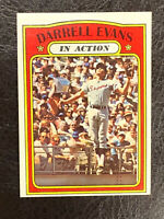 1972 Topps Darrell Evans In Action Card #172 NM-MT Very Nice Atlanta Braves