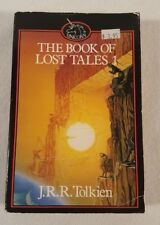 Vtg 1985 Tolkien Book of Lost Tales History of Middle Earth ~ Unicorn Paperback
