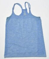 Woman's DANSKIN Blue Athletic Tank Top Sleeveless Loose Fit Size Medium M 8-10