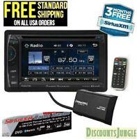 "Power Acoustik PH-620SXMB Double DIN CD/DVD Player 6.2"" LCD Bluetooth Sirius XM"