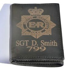 More details for greater manchester police personalised gift wallet engraved with any name & no.
