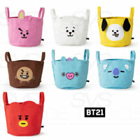 BTS BT21 Official Authentic Goods String Storage Bag 300 x 300 x 250mm + Track#