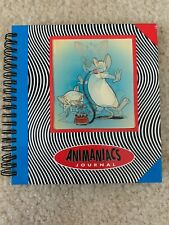 Vintage Warner Bros Holographic Animaniacs Pinky and the Brain Notebook Pad Book