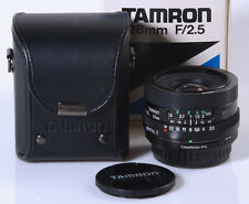 OBJECTIF TAMRON 2,5/28mm BBAR MC !! PENTAX K - NIKON - CANON EOS - CANON FD...