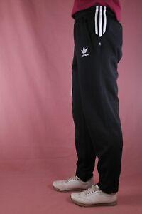 adidas Herren Sporthose Hose Trainingshose men tracksuit sweatpants schwarz D6