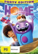 Home (DVD, 2015) NEW R4 Rihanna, Jim Parsons