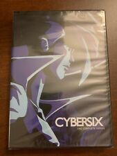 Cybersix Complete Series DVD Official Discotek Cartoon English