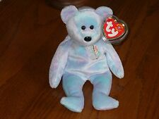 TY BEANIE BABY BEAR - ISSY SAO PAULO - HANG TAG PROTECTED - EXCELLENT CONDITION