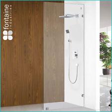 Shower Panel 1000 Frameless Screen Single Wet Room 10mm Tough Glass AU Standard