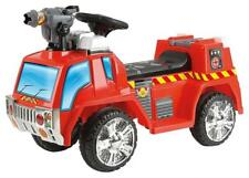 Toyrific Kids Boys Electric Ride-On Fire Engine Car Toy W/ Bubble Gun WB-TY5801