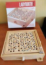 Juego de mesa retro LABYRINTH, madera, edición Premier!!!