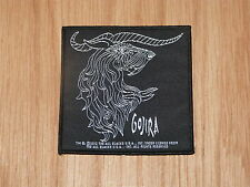 GOJIRA - HORNS (NEW) SEW ON W-PATCH OFFICIAL BAND MERCHANDISE