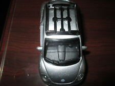 Toy Silver Volkswagen New Beetle miniature car SS5688