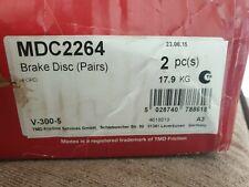 2006> FORD TRANSIT FRONT BRAKE DISCS 300MM MINTEX MDC2264