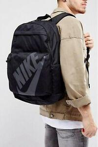 New Nike Backpack/ Rucksack/gym bag/ school bag/ black/unisex/zip pockets/travel