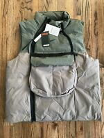 63 Nike NSW Tech Pack Utility Cargo Vest Olive Grey NikeLab CU3766 081 Men S-XL
