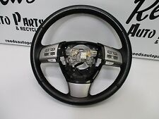 09 10 MAZDA 6 BLACK STEERING WHEEL W/AUDIO AND CRUISE CONTROL OEM