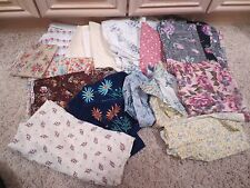 NEW FLORAL FABRIC SEWING MATERIAL, LOT