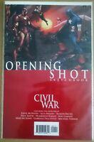 CIVIL WAR OPENING SHOT SKETCHBOOK SPIDER-MAN IRON MAN US MARVEL NEU Portofrei