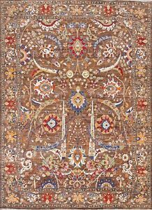 Vegetable Dye Super Kazak Floral Oriental Area Rug Hand-knotted Wool Carpet 8x10
