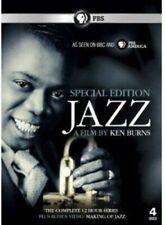 Jazz a Film by Ken Burns Episodes 1-12 Special Edition 4xdiscs Region 2 DVD