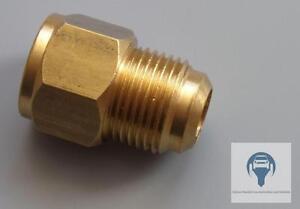 Adapter Gerade Reduzierung Verschraubung SAE M 5/8 x F 1/2 Klimatechnik