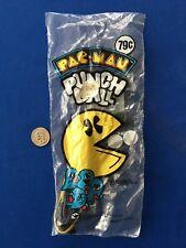 NEW 1980 Blue Bird PAC-MAN Punch Ball MIB Old Store Stock