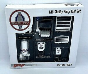 GMP 1:18 Die Cast Garage Worksop Tools Set - Shelby Cobra Edition ; Gift Ideas