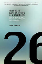 Twenty-six ways of looking at a blackberry: How to let writing release the creat