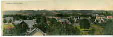 1910 Oversized Panoramic Postcard showing a View of Newberg Oregon