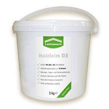 Leimwerk Holzleim wasserfest D3 5kg Eimer