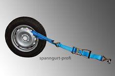 4x Voiture Arrimage / Transport en Sangle PKW Sécurité pneu de roue (6)