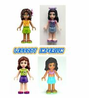 Lego Friends Minifigures - Andrea Emma Kate Olivia - minidoll FREE POST