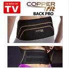 Men Women Copper Fit Back As Seen On TV Compression Lumbar Support Belt S/M/L/XL